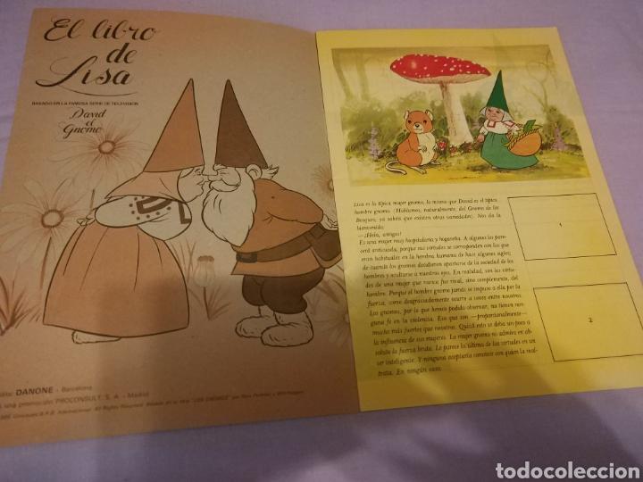 Coleccionismo Álbum: ALBUM - EL LIBRO DE LISA - COMPLETO - Cromos por pegar . serie tv DAVID EL GNOMO - DANONE de 1985 - Foto 3 - 113842743