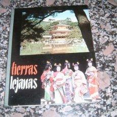 Coleccionismo Álbum: ALBUM TIPO LIBRO TIERRAS LEJANAS. Lote 113945827