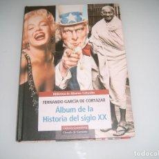 Coleccionismo Álbum: ALBUM TIPO LIBRO ALBUM DE LA HISTORIA DEL SIGLO XX. Lote 113948351