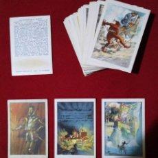Coleccionismo Álbum: COLECCIÓN COMPLETA DE CROMOS (80) DON QUIJOTE DE LA MANCHA ILUSTRADOS POR SEGRELLES. Lote 114332975