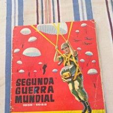 Coleccionismo Álbum: ALBUM COMPLETO TORRAS LA SEGUNDA GUERRA MUNDIAL. Lote 114534996