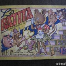 Coleccionismo Álbum: LA RATITA ZALAMERA QUE BARRIA LA ESCALERA - ALBUM COMPLETO-EDICIONES POVI -VER FOTOS-(V-13.762). Lote 114819775