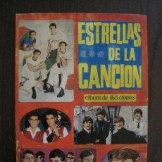 Coleccionismo Álbum: ESTRELLAS DE LA CANCION - ALBUM CROMOS COMPLETO -UNION DISTRIBUIDORA EDICIONES -VER FOTOS-(V-13.775). Lote 114904543