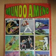 Coleccionismo Álbum: ALBUM COMPLETO MUNDO AMENO 216 CROMOS. Lote 114932347