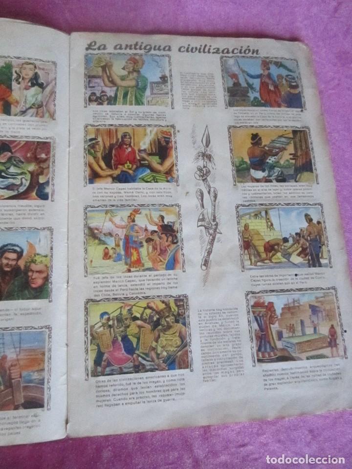 Coleccionismo Álbum: ALBUM COMPLETO HISTORIAS DE CONQUISTADORES Y HAZAÑAS DE PIELES ROJAS . - Foto 8 - 115021319