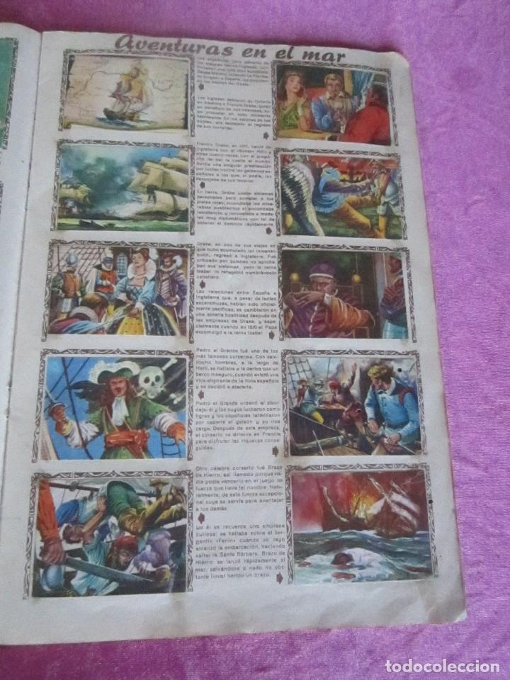 Coleccionismo Álbum: ALBUM COMPLETO HISTORIAS DE CONQUISTADORES Y HAZAÑAS DE PIELES ROJAS . - Foto 11 - 115021319