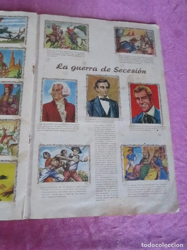 Coleccionismo Álbum: ALBUM COMPLETO HISTORIAS DE CONQUISTADORES Y HAZAÑAS DE PIELES ROJAS . - Foto 12 - 115021319
