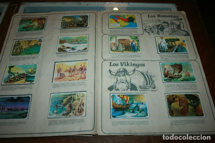 Coleccionismo Álbum: Album completo viajes y conquistadores año 1976 editorial Ruiz Romero. - Foto 6 - 115024015