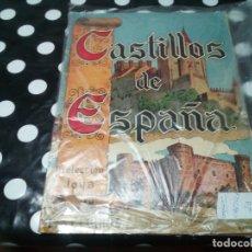 Coleccionismo Álbum: COLECCION JOYA: ALBUM 144 CROMOS CASTILLOS DE ESPAÑA COMPLETO, MUY RARO. Lote 115067111