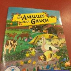 Coleccionismo Álbum: LOS ANIMALES DE LA GRANJA. PRECIOSO ALBUM DE CROMOS COMPLETO - DE CROMOSOL. IMPECABLE. Lote 115071835