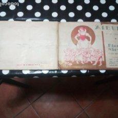 Coleccionismo Álbum: ALBUM DE CROMOS BLANCANIEVES Y LOS SIETE ENANITOS FHER AÑOS 40 COMPLETO RARO. Lote 115128851