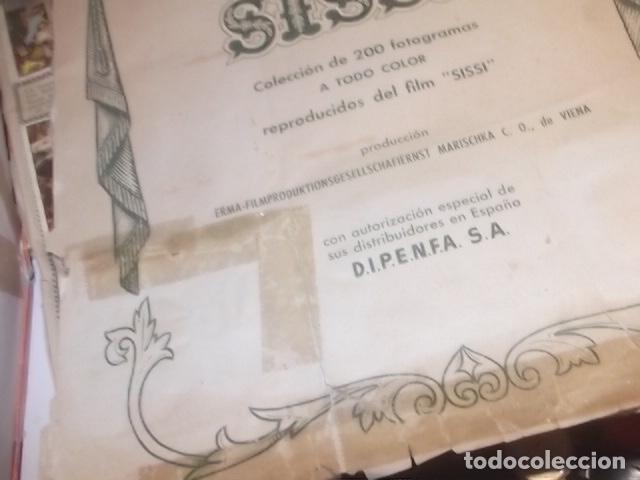Coleccionismo Álbum: ALBUM COMPLETO DE SISSI VER DESCRIPCION,BARATO - Foto 4 - 115139203
