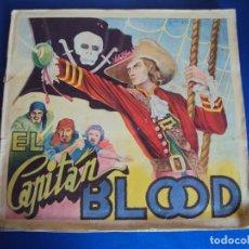 Coleccionismo Álbum: (AL-180303)ALBUM DE CROMOS COMPLETO EL CAPITAN BLOOD EDITORIAL FHER - ORIGINAL. Lote 115209879