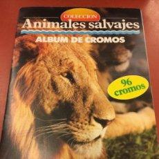 Coleccionismo Álbum: ANIMALES SALVAJES - DE MULTILIBRO. ALBUM DE CROMOS COMPLETO - IMPECABLE. Lote 115215435
