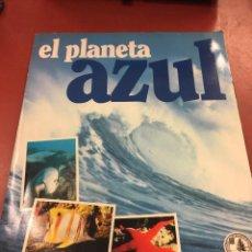 Coleccionismo Álbum: EL PLANETA AZUL - DE PANINI. ALBUM DE CROMOS COMPLETO - CROMOS MUY BIEN COLOCADOS.. Lote 115216047