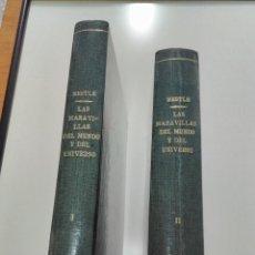 Coleccionismo Álbum: ALBUM CROMOS NESTLE MARAVILLAS DEL MUNDO Y CURIOSIDADES DEL UNIVERSO (AÑO 1932). Lote 115251471