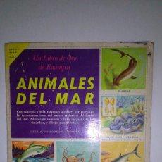 Coleccionismo Álbum: ALBUM CROMOS ANIMALES DEL MAR. EDITORIAL NOVARO (1969). Lote 115422195