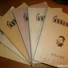 Coleccionismo Álbum: CROMOS CULTURA - ALBUMS 1º, 2º, 3º, 4º, 5º Y 6º - EDITORIAL EL GATO NEGRO Y BRUGUERA, BARCELONA, AÑO. Lote 115494767