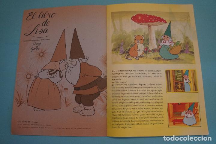 Coleccionismo Álbum: ÁLBUM COMPLETO DE EL LIBRO DE LISA AÑO 1985 DE DANONE - Foto 2 - 115555431