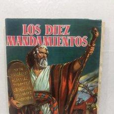 Coleccionismo Álbum: LOS DIEZ MANDAMIENTOS, ALBUM COMPLETO 210 CROMOS BRUGUERA 1960. Lote 115605319