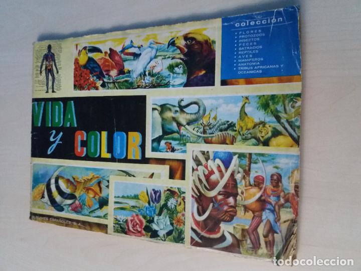 album vida y color 1965 albunes españoles s comprar Álbumes