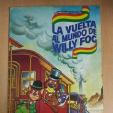 Coleccionismo Álbum: ALBUM LA VUELTA AL MUNDO DE WILLY FOG - DANONE COMPLETO. Lote 116194071