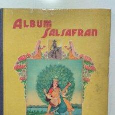 Coleccionismo Álbum: ALBUM CROMOS SALSAFRAN. EDITADO POR VDA. DE A. GOMEZ TEJEDOR (1942). Lote 115249447