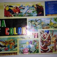 Coleccionismo Álbum: ALBUM CROMOS VIDA Y COLOR. COMPLETO (AÑO 1965). Lote 115403583