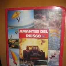 Coleccionismo Álbum: ALBUM DE CROMOS - CARPETA AMANTES DEL RIESGO. LAS MEJORES FOTOS DEL MUNDO. TELE INDISCRETA. COMPLETO. Lote 116345747