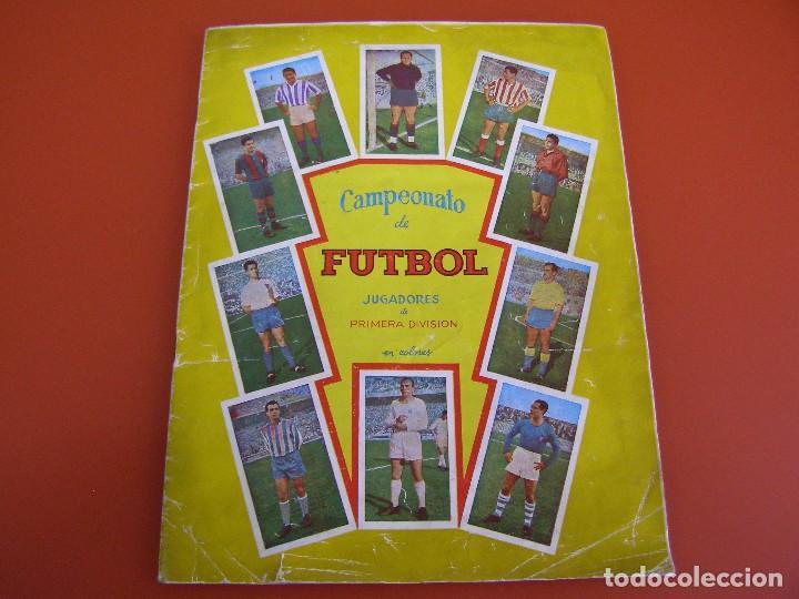 ALBUM CAMPEONATO DE FUTBOL 57/58, JUGADORES DE 1ª DIVISION, GRAFICAS NILO, COMPLETO (Coleccionismo - Cromos y Álbumes - Álbumes Completos)
