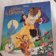 Coleccionismo Álbum: ALBUM LA BELLA Y LA BESTIA. Lote 116521123