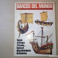 Coleccionismo Álbum: BARCOS DEL MUNDO. Lote 116698375