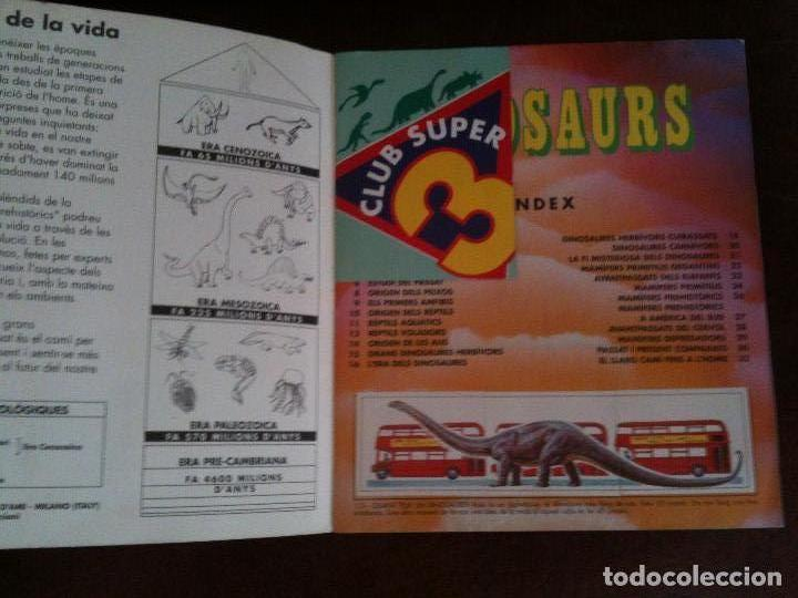 Coleccionismo Álbum: DINOSAURS CLUB SUPER 3.CATALAN - Foto 6 - 116699971