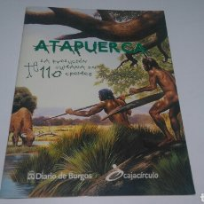 Coleccionismo Álbum: ALBUM CROMOS ATAPUERCA. Lote 116711479