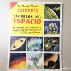 Collectionnisme Album: SECRETOS DEL ESPACIO. Lote 116766415