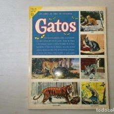 Coleccionismo Álbum: GATOS. Lote 116769867