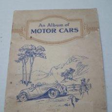 Coleccionismo Álbum: ALBUM COMPLETO AN ALBUM OF MOTOR CARS DE JOHN PLAYER PRIMERA SERIE AÑOS 30. Lote 117097162