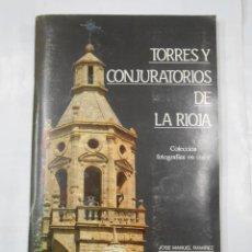 Coleccionismo Álbum: ALBUM FOTOS CROMOS. TORRES Y CONJURATORIOS DE LA RIOJA. JOSE MANUEL RAMIREZ MARTINEZ. 1988. TDK338. Lote 117101119