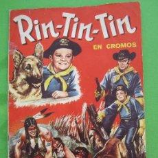 Coleccionismo Álbum: ALBUM COMPLETO , RIN-TIN-TIN , EDITORIAL FHER 1962. Lote 117118143