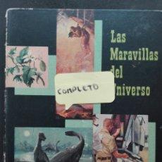 Coleccionismo Álbum: LAS MARAVILLAS DEL UNIVERSO NESTLÉ COMPLETO. Lote 117345322