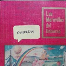 Coleccionismo Álbum: LAS MARAVILLAS DEL UNIVERSO NESTLÉ COMPLETO. Lote 117351272