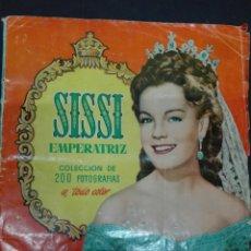 Coleccionismo Álbum: SISSI EMPERATRIZ COLECCIÓN 200 CROMOS FALTAN DOS. Lote 117488415
