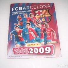 Coleccionismo Álbum: ALBUM BARCELONA TEMP 2008-2009. Lote 117744399