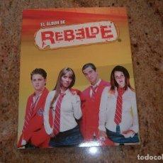 Coleccionismo Álbum: ALBUM REBELDE. Lote 117793563