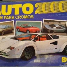 Coleccionismo Álbum: 2 ÁLBUMES DE FOTOS DE COCHES COMPLETOS AÑOS 80 (AUTO 2000 SÓLO FALTA EL 66) BUEN ESTADO.. Lote 117865651