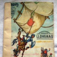 Coleccionismo Álbum: DON QUIJOTE - ALBUM CROMOS COMPLETO - CHOCOLATES LLOVERAS - 240 CROMOS. Lote 118001387
