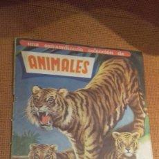 Coleccionismo Álbum: ALBUM ANIMALES FHER 1961 CASI COMPLETO SOLO FALTAN 2 CROMOS. Lote 118080967