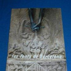 Coleccionismo Álbum: ALBUM COMPLETO - LES FONTS DE BARCELONA 1987 , EDITA CAIXA DE CATALUNYA. Lote 118172591