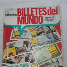 Coleccionismo Álbum: ALBUM BILLETES DEL MUNDO ESTE 1974 COMPLETO. Lote 118283103