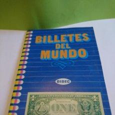 Coleccionismo Álbum: ALBUM COMPLETO BILLETES DEL MUNDO. Lote 118425314